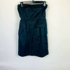 J. Crew Ruffle Strapless Dress